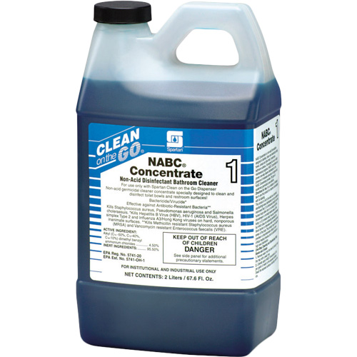 Spartan Clean On The Go NABC Concentrate Bathroom Cleaner