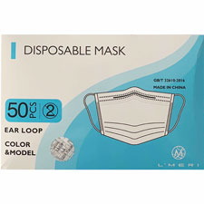 3-Ply Kids Face Mask with Elastic Ear Loops