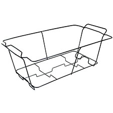 Maryland Plastics Kingsman Wire Chafing Rack