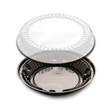 D&W Fine Pack DisplayPie Pie Base With Low Dome