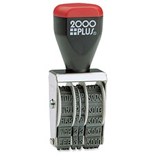 COSCO 2000 Plus Traditional Date Stamp