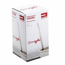 AmerCare Royal Individually Wrapped Jumbo Straw