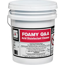 Spartan Foamy Q & A Acid Disinfectant Cleaner